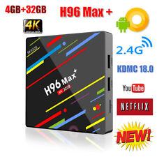 H96 Max+ Android 8.1 TV Box  RK3328 Quad Core 4GB RAM + 32GB ROM 4K Media Player