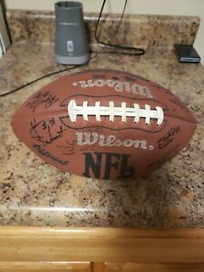 1994 Wilson NFL AFL game ball autographed Tennessee Vols Peyton manning  +16