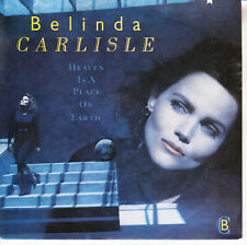 """BELINDA CARLISLE  Heaven Is A Place On Earth PICTURE SLEEVE 7"""" 45 rpm record NEW"""