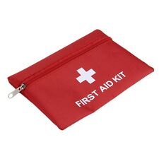 1.4L PVC First Aid Kit Red Camping Emergency Survival Bag Bandage Drug QAGH