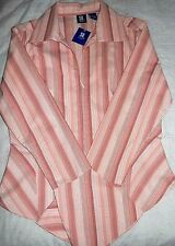 Top Blouse Shirt for Women/ Girls~Trendy,Stretchy & gives nice Shape~L~ NWOT*