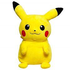 Takara Tomy Pokemon Relaxing Big Mocchiri Pikachu Plush Doll 75cm Kawaii NEW