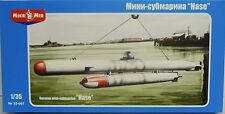 """Tedesco più piccolo sottomarino """"Coniglio"""" , Micro Me, 1:35,Plastica, NUOVO"""