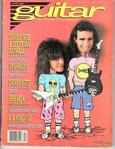 Guitar for the Practicing Musician April 1989- Anthrax Dan Spitz & Scott Ian