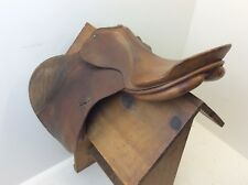 Used Leather G Tassier & Sohn Germany PS-Baum English Show Saddle Brown