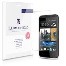 iLLumiShield Phone Screen Protector w Anti-Bubble/Print 3x for HTC Desire 300