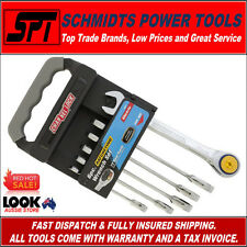 CHANNELLOCK METRIC RATCHETING WRENCH SET 6 PIECE SPANNER SET 38041