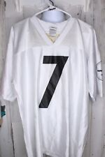 Pittsburg Steelers #7 Roethlisberger Large Poly Jersey Nfl Men's Shirt
