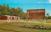 Wawa Ontario~Silver Birch Cottages on Lake Superior Route~Lawn Chairs~1950s PC