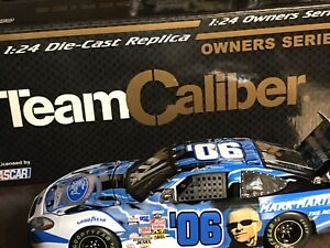 Mark Martin #6 Ford Brick Paver Team Caliber 1/24 Owners Series 2005- F-55