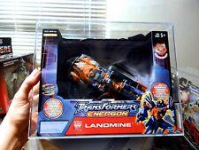 2003 Transformers AFA Energon Deluxe Landmine Tape Sealed MISB MIB BOX