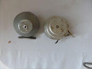 2 Vintage Fly Reels -Humpal Boulder CO & Martin Automatic 6 Mohawk