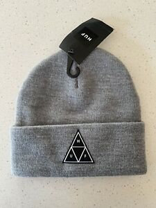 HUF Grey Skate Beanie, Brand New With Tags, Unisex, Culture Kings, Dolls Kill