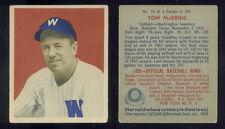 (33163) 1949 Bowman 74 Tom McBride Senators-VGX