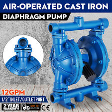 Air-Operated Double Diaphragm Pump 1/2inch Outlet Low Viscosity Petroleum Fluids