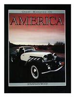 Great Marques of America by Jonathan Wood (1986, Hardcover)