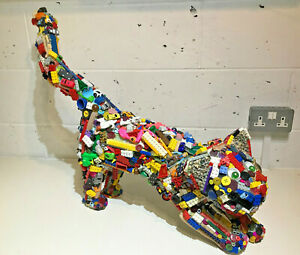 Life Size Sculpture Cat Pop Art Childhood Toys Art ONE OF A KIND L@@K