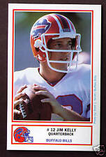 Jim Kelly 1987 ROOKIE RC 1st first Buffalo Bills Police trading card