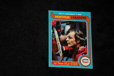GUY LaFLEUR 1979-80 TOPPS SIGNED AUTOGRAPHED CARD #200 CANADIENS