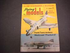 Flying Models Magazine,Radio Controlled,Feb 1975,Tiano,Phantom,R/C Boats,Cars