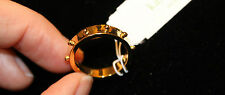 NWT Kate Spade Thin Gold Ball Ring Size 6 - Great Alone or Stackable!