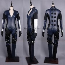 Resident Evil 5 Jill Valentine Cosplay Leather Costume Any Size