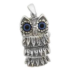 Athena's Wise Little Owl ~Greek Sterling Silver Pendant