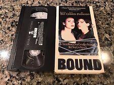 Bound VHS! 1996 Mob Money Excitement! The Matrix Memento Basic Instinct Showgirl