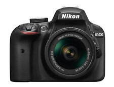 Nikon D3400 DSLR Camera With Af-p 18-55mm Lens with Camera bag accessory
