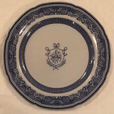 Spode Copeland New Stone Blue Dinner Plate Flower Basket Butterfly Edge England