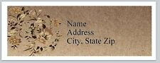 Personalized Address Labels Beautiful Flowers Buy 3 get 1 free (P 583)