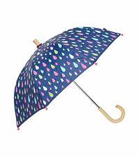 Hatley Kids Colour Changing Umbrella - Rain Drops