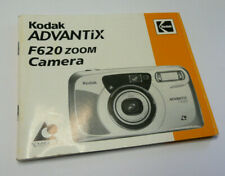 Original User Instruction Manual for Kodak Advantix F620 Camera