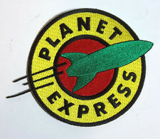 "Futurama Planet Express 5"" DELUXE Embroidered Patch-Mailed from USA (FUTPA-01-D)"