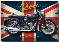 VELOCETTE VENOM THRUXTON  MOTORCYCLE METAL SIGN,CLASSIC,COLLECTABLE.nu