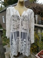 Kyla Seo BOHO Lace Top Sz M Anthropologie