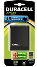 Duracell Charger 45 Minute +2 Battery Aa 1300mAh +2 AAA 750mAh Rechargeable