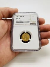 1914-D $2.50 Indian Gold Quarter Eagle AU-58 NGC