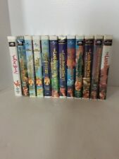 The Land Before Time 1-10 + Sing Along Songs, & We're Back Dinosaur VHS Lot