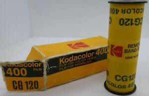 Expired Kodacolor 400 CG 120 Film