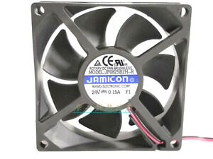 1pc Jamicon JF0825S2H-R 8025 8CM 24V 0.15A 2-wire Inverter Fan
