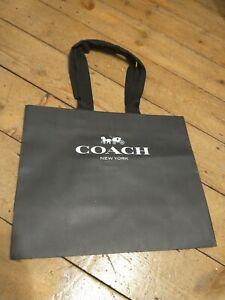 Coach New York Black Gift Bag Shopping Bag