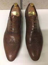 Paul Smith UK 9 Eu 43 Brown Brogue Shoes Lace Up