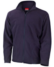 "Result Core Micron Fleece Jacket 8 Colours 34"" - 53"" XL Navy"