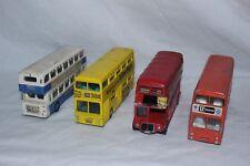Vintage DINKY double decker bus nº 29 sélection X4 autobus