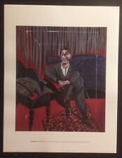 FRANCIS BACON, 'Seated Figure' exhibition mini Print, 2016