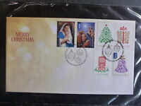 AUSTRALIA 2013 CHRISTMAS SET 6 STAMPS FDC FIRST DAY COVER