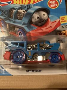 Hot Wheels Loco Motorin Thomas and Friends HW Metro 3/10 New On Card 2020