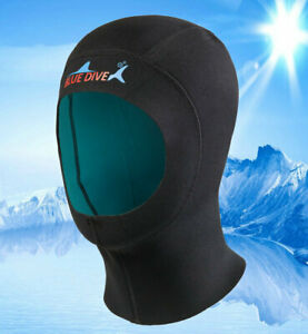 1mm Neoprene Scuba Diving Hood Keep Warm Swimming Cap Wetsuit Hat Water Sports