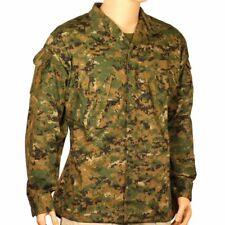 New Bulle Marpat Digital Woodland Camo Military Tactical Combat Shirt XXL 51 in
